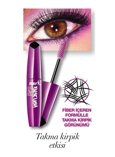 Avon Mark Big and False Lash Hacim Veren Maskara 10 Ml Black Siyah